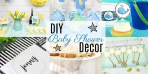 DIY Baby Shower Decor