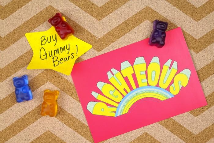 Resin Gummy Bear Thumbtacks Resin Crafts