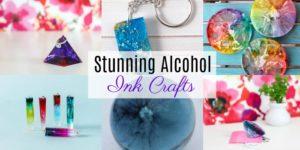 Stunning Alcohol Ink Crafts