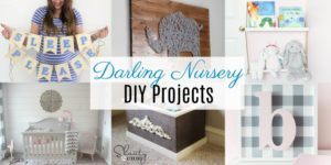 Darling DIY's for the Nursery