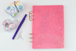 DIY Resin Notebook
