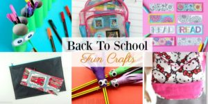 Fun Back To School Crafts