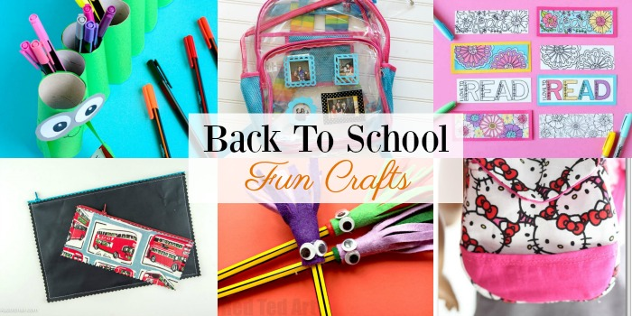 Back To School Art Projects For Toddlers