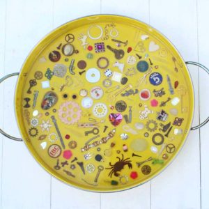 Eye Spy Trinket Tray with EasyCast Resin