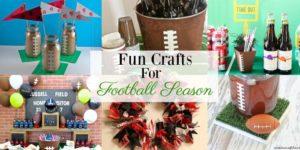 Fun Crafts For Football Season