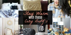 Stay Warm with these Cozy DIY's