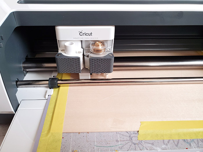 Cricut cutting wood