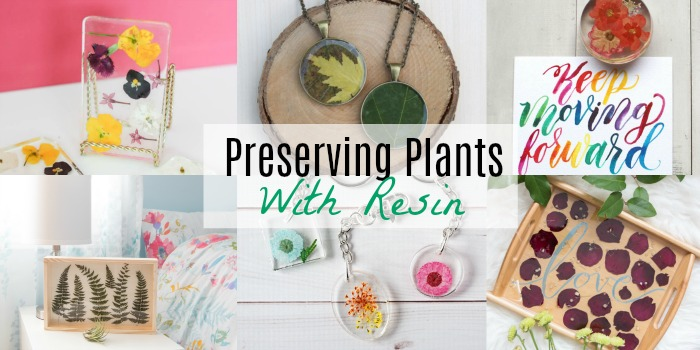 The Best Tutorials to Preserve Flowers & Plants in Resin
