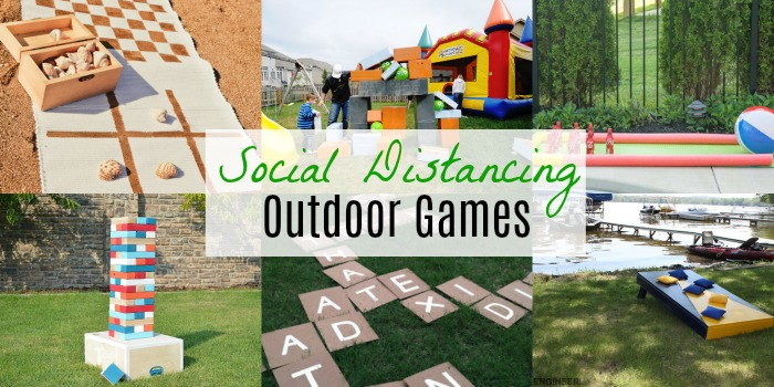 Outdoor Games That Can Be Played From A Distance