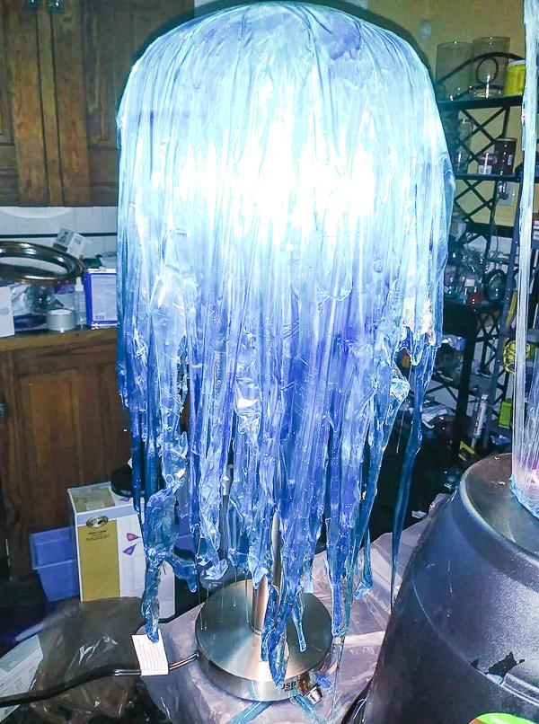 Jellyfish Resin Lamp