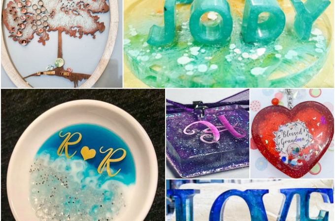 Personalization Projects - May Resin Crafting Challenge