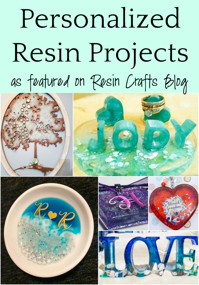 Personalized Resin Projects