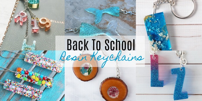 DIY Resin Keychains Perfect for Back to School