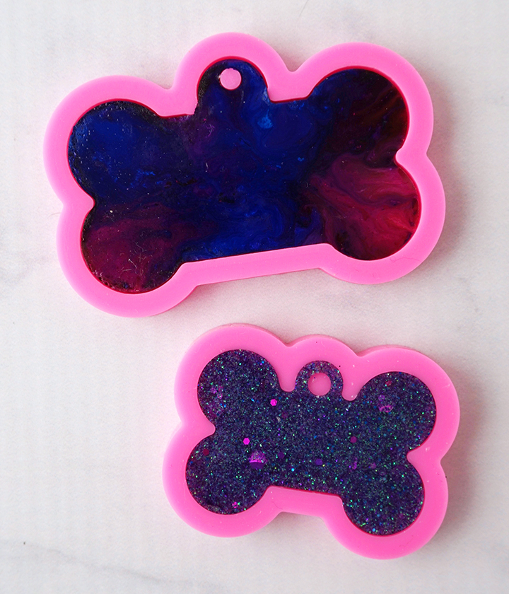 Resin Dog Tags Back