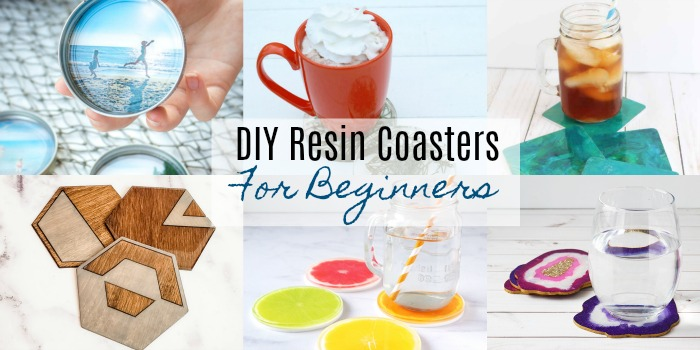 DIY Resin Coasters Perfect for Beginners