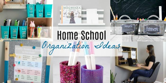 Fabulous Home School Organization Ideas