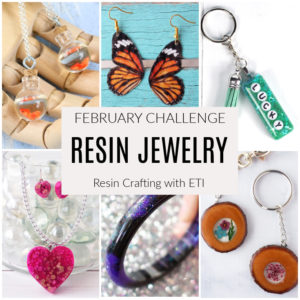 Resin Jewelry Resin Crafting Challenge