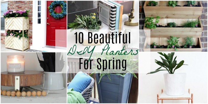 beautiful diy planters for spring