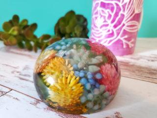 embedding in polyester resin