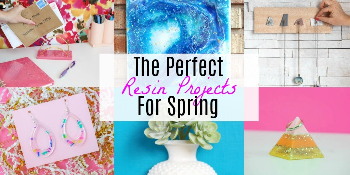 spring resin projects