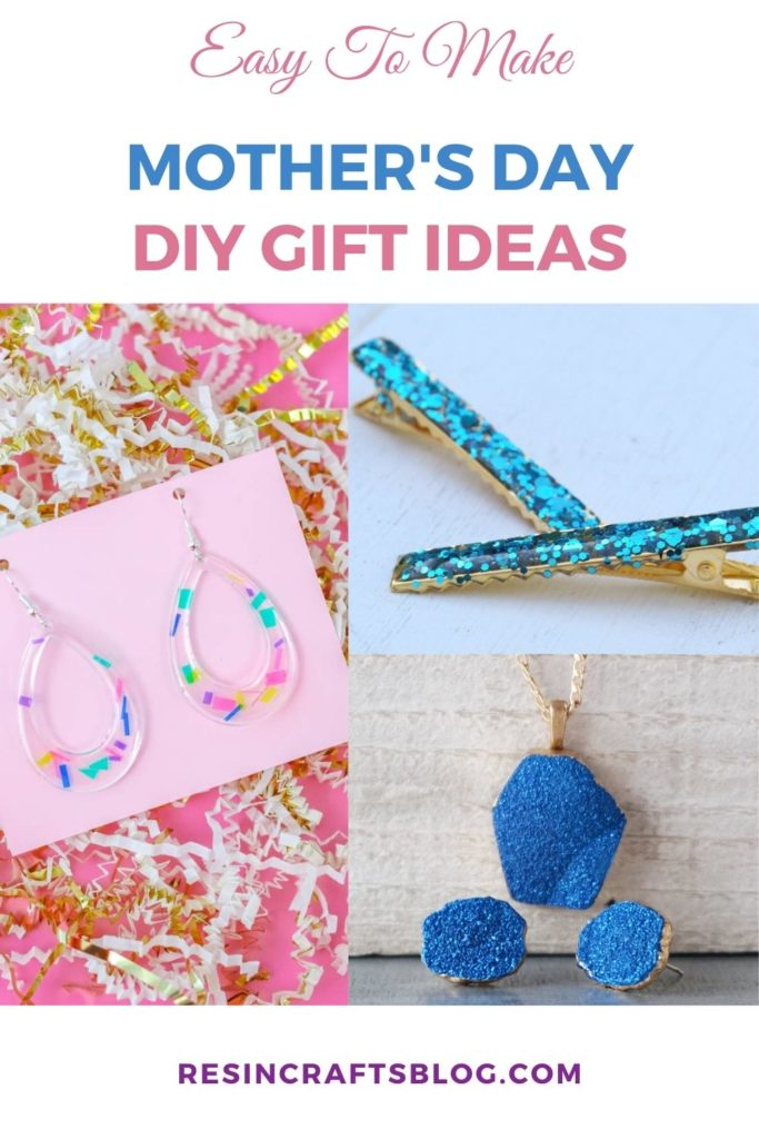 diy mother's day gifts collage with text