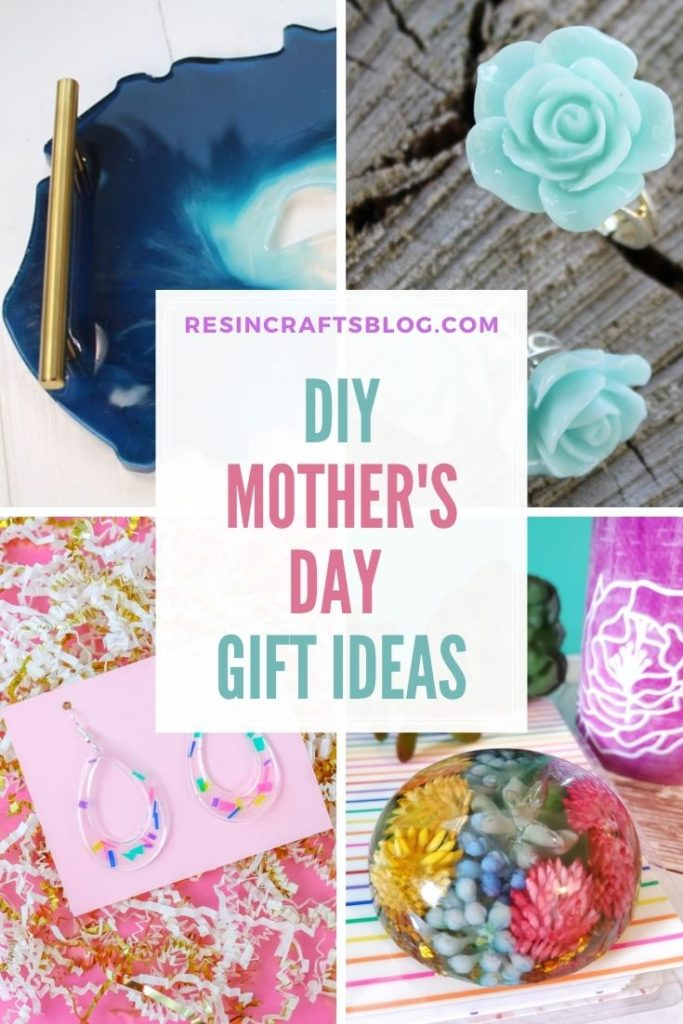 diy mother's day gift ideas collage with text overlay