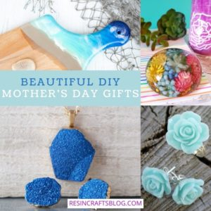 mother's day gifts collage with text overlay