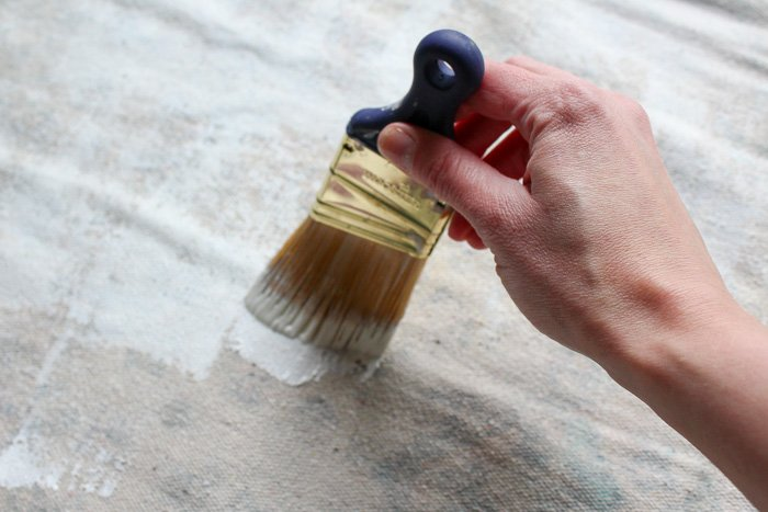 Fiber-Lok Non-Skid Rug Backing is the easiest and most effective way to keep a rug from sliding and curling. Simply paint on two thin coats and let it work its magic.