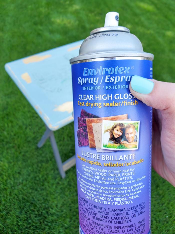 spray sealer resin