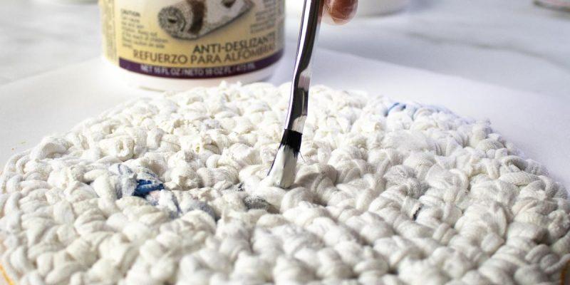 DIY Crochet Heat Pad with Fiber-Lok Non-Skid Backing